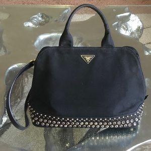 Prada Jewel Embellished Crossbody/Top Handle bag